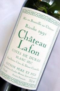 chateau lafon 1991